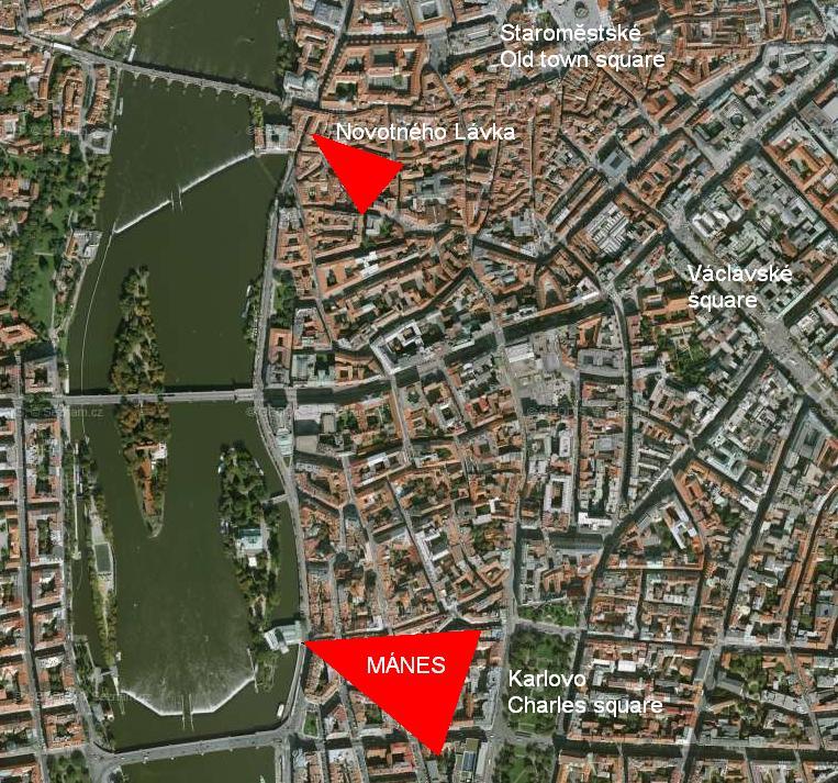 Manes map